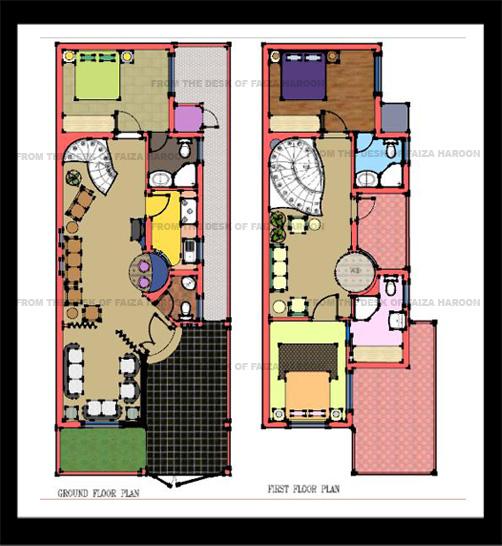 5 marla house by Faiza Haroon at Coroflot.com