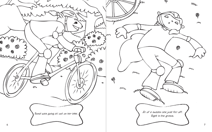 Get Going Gang Coloring Book By David Spak At Coroflot