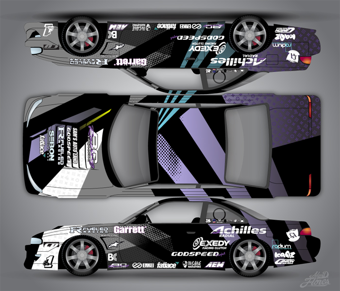 Vehicle Wrap Design By Alejandro Flores At Coroflot Com