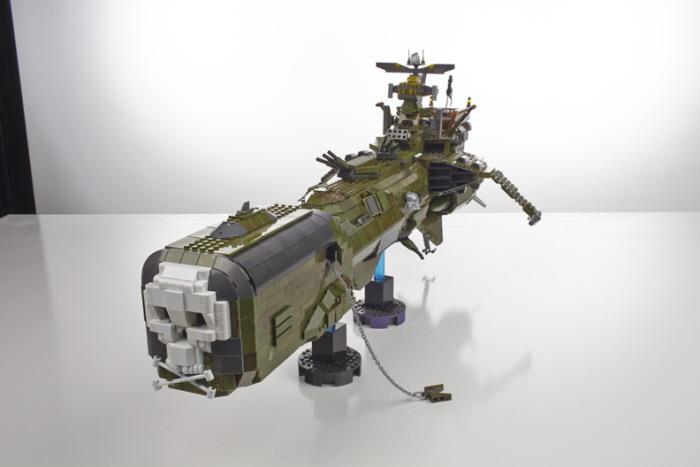 Harlock Space Ship Arcadia Le Vaisseau D Albator By Martin