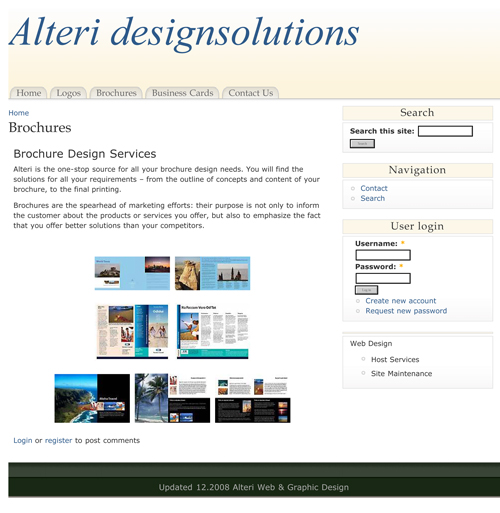 Web Development/Design & Production by Terri Hamner at