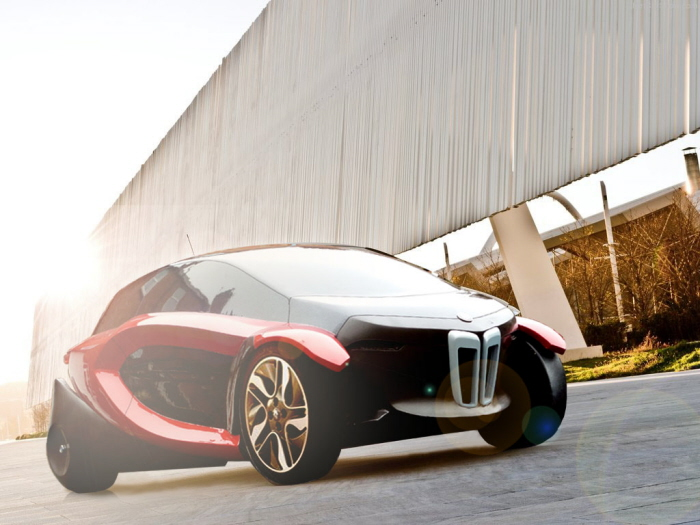 Bmw I0 All Electric Compact City Car By Tushar Amin At Coroflot Com