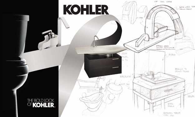 Kohler brand study and concept sketches by John Asquith at Coroflot.com