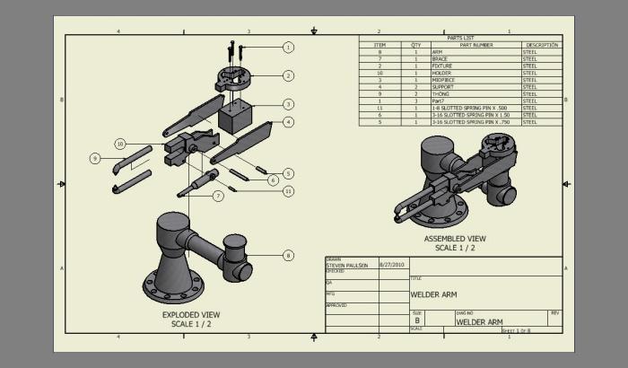 Inventor Drawings By Steven Paulsen At Coroflot Com