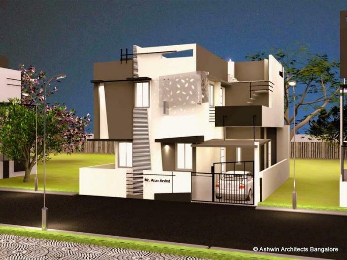 Luxury House Plans - Villas in Bangalore by Ashwin
