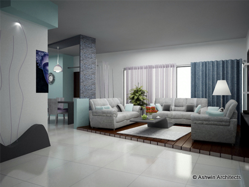 4 Bhk Interior Design Jyothis Apartment Bangalore By Ashwin