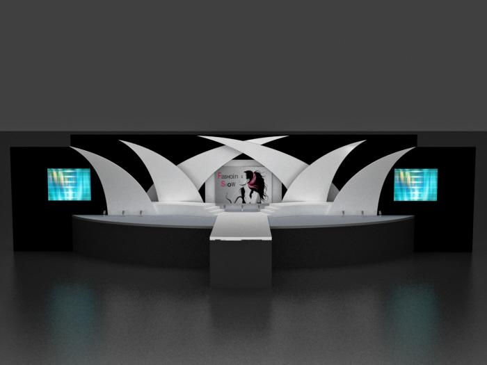 Fashion Show Set Design By Dnyansagar Sapkale At Coroflot Com