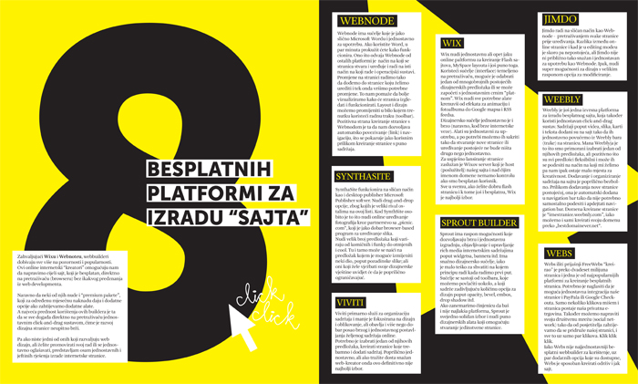magazine layouts by ivana todorovski at coroflot com