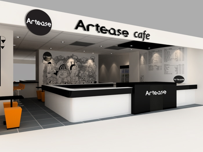 Artease Cafe At Cineleisure Orchard By Chester Yong Coroflot
