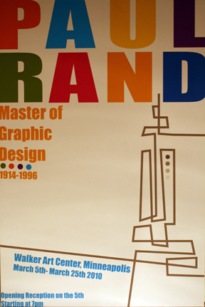 7f6cd4c0b Paul Rand- Artist Inspired Poster Designs - Using the style of Paul Rand, a  pioneer in graphic design, I was inspired to design these 3 posters