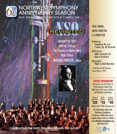Northwest Symphony Orchestra 2011-2012 Season by Misha Gulati at