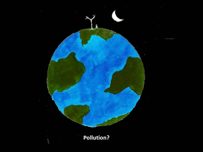 Poster Design On Pollution By Simone Sen Poovaiah At