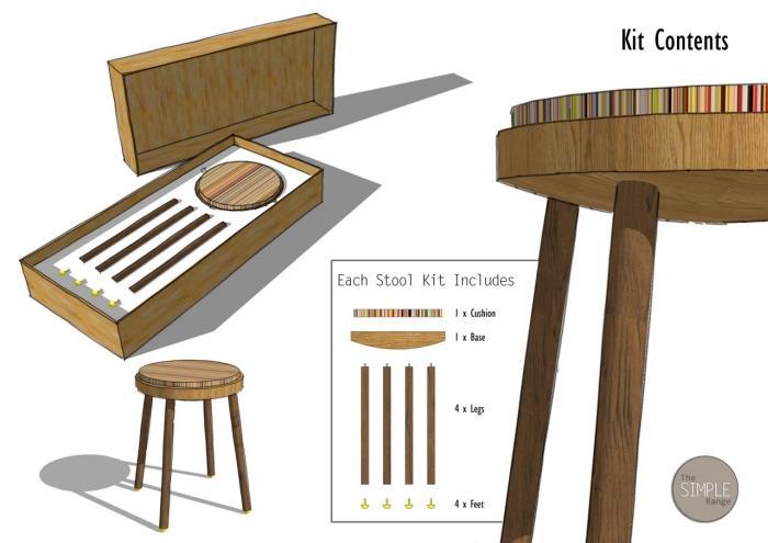 Stupendous Furniture Design By Brad Mole At Coroflot Com Theyellowbook Wood Chair Design Ideas Theyellowbookinfo