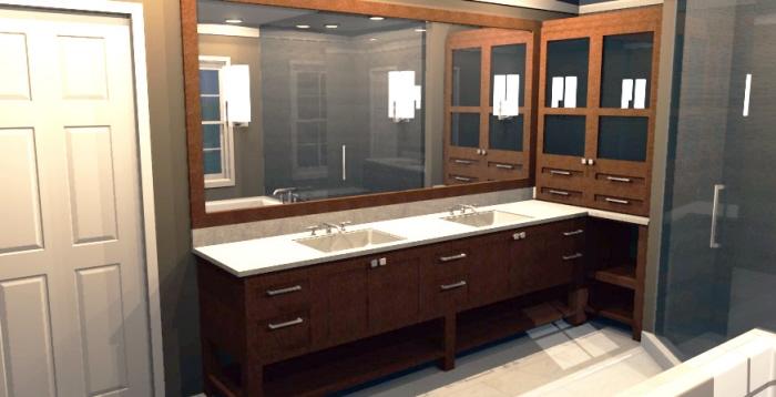 Freelance Master Bathroom Remodel by Jenny Pugh at Coroflot com