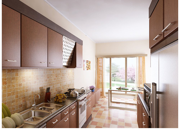 Interior 3D Visualization   3D Rendered Views Of Kitchen By Pradipta Seth  At Coroflot.com