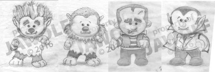 Illustrations by Julia A  Wolf at Coroflot com