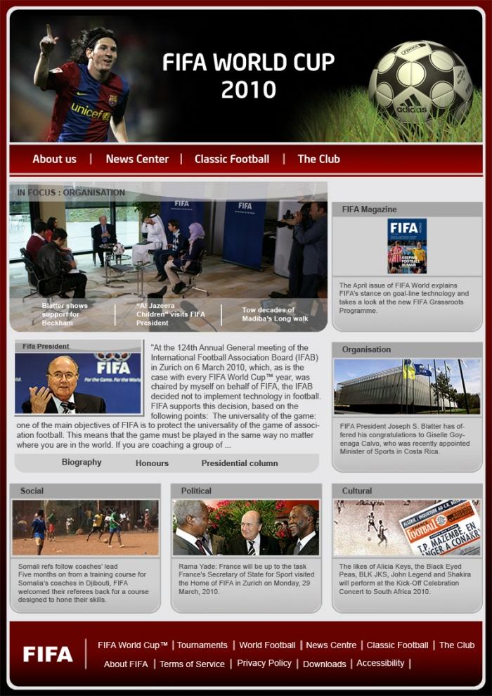 web tamplets by rahul konda at coroflot com
