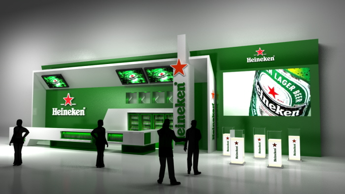 3d Exhibition Designer Jobs In Singapore : Heineken bar stadium by arch jeam at coroflot