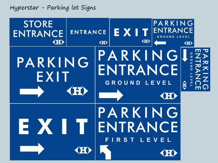 Hyperstar - Directional Signs by Haider Ali at Coroflot com