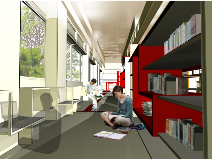 Sp Library Design Competition 2010 By Amy Wong Hui Jun At