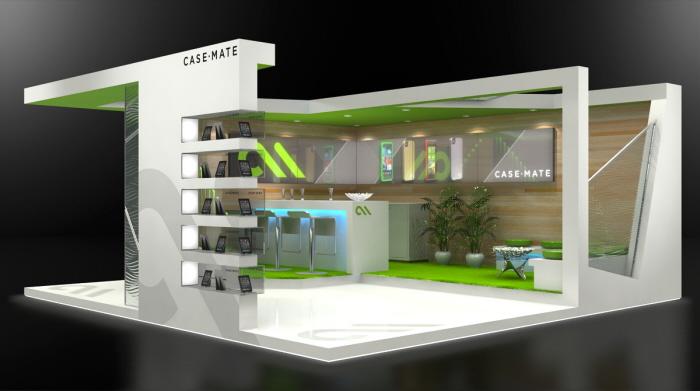 20x20 Custom Exhibit Design By Jeff Vavrek At Coroflot Com