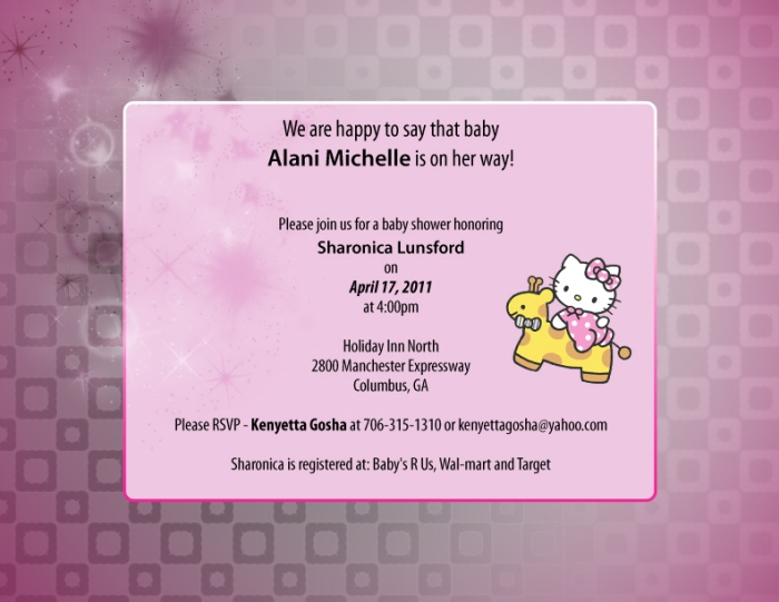 Baby shower invitations thank you cards by jerrine ingram at baby shower invitations thank you cards by jerrine ingram at coroflot filmwisefo