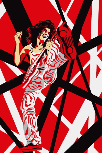 Digital art by troy mueller at - Van halen hd wallpaper ...