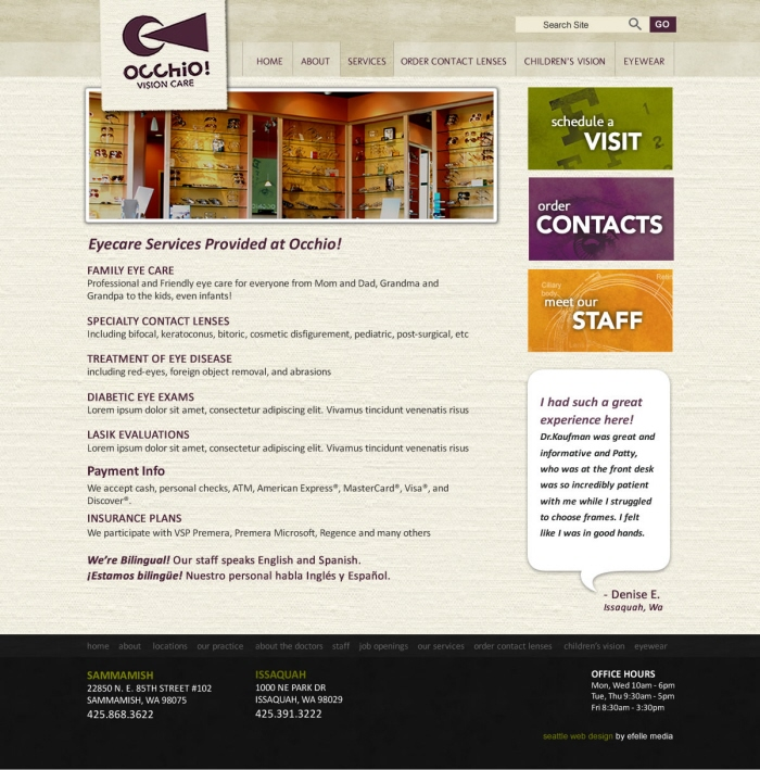 Clinical Website Design Project By Fred Lebhart At Coroflot Com