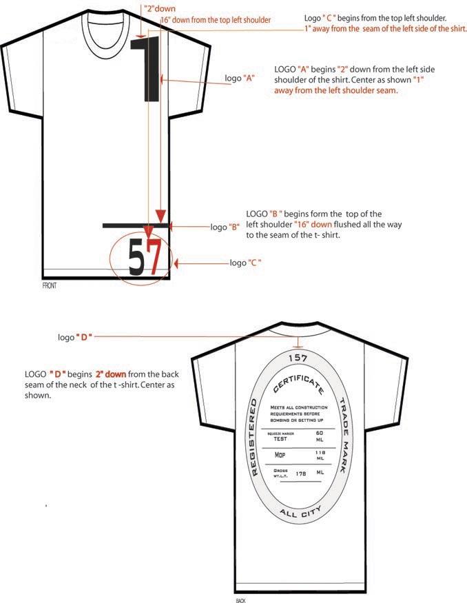 Sample T Shirt For 157inc Tech Pack