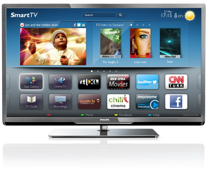 Philips Smart LED TV 5000/5500 Series 2012 by Murphy Tan at