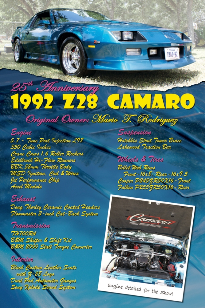 Car Show Display Signs By Jerry Bradley At Coroflotcom - Car show display signs