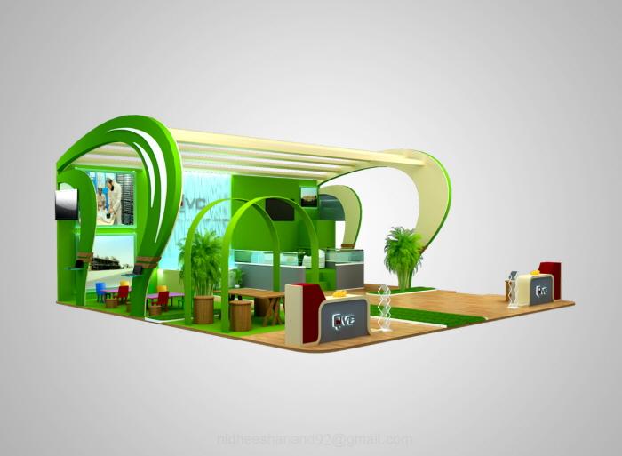 Exhibition Stand Designer Jobs In Qatar : Exhibition stand design qatar by nidheesh anand at