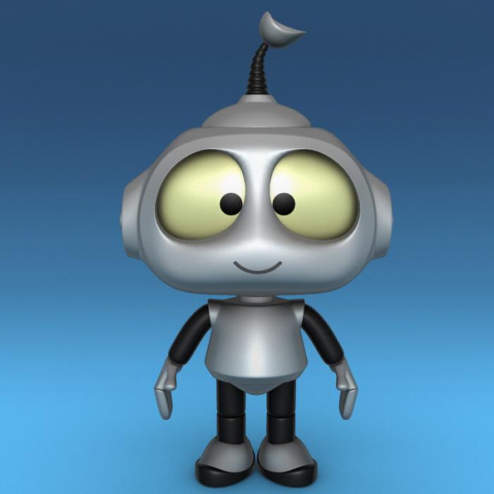 rob the robot by arnon ravitz at coroflotcom