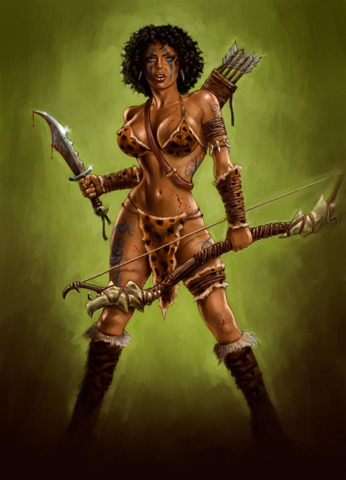 Amazonian woman — pic 11