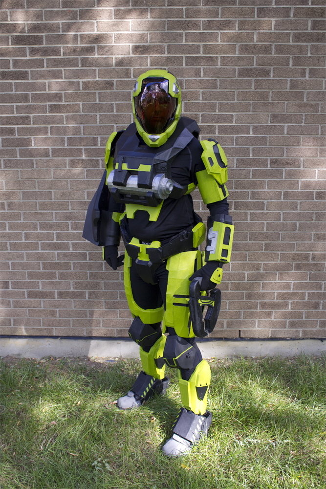 Halo Reach Armor By Kevin Gebhardt At Coroflot Com