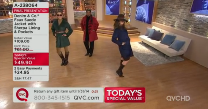 QVC October 2013 Styling by Angelo C  Vellucci at Coroflot com