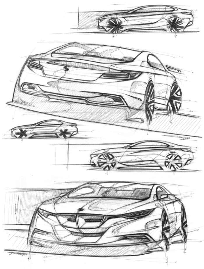 sketching    by cyril verbrugge at coroflot com