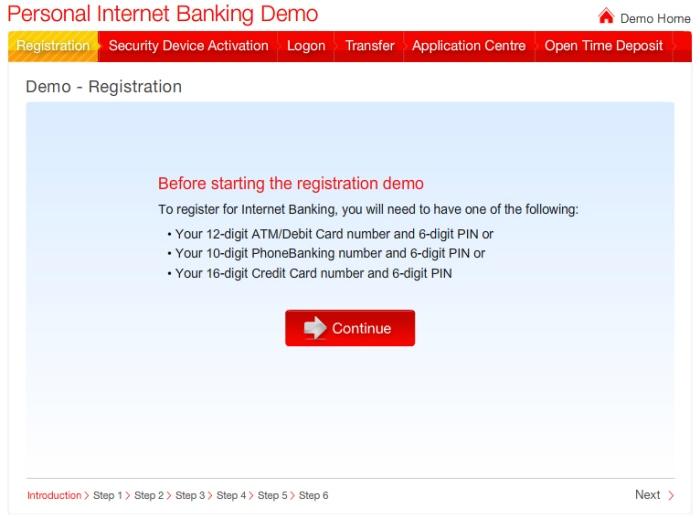 HSBC Vietnam Personal Internet Banking Demo by Lim Ta Kai at