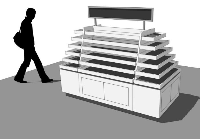 Free Retail Display SketchUp 3D Models by AG CAD Designs at Coroflot com