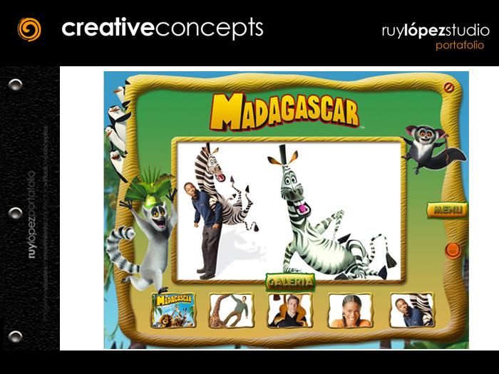 Madagascar DVD Press Kit by Ruy Lopez at Coroflot com
