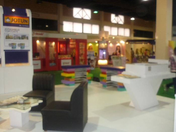 Jotun Exhibition Stall By Grains Furniture At Coroflot Com