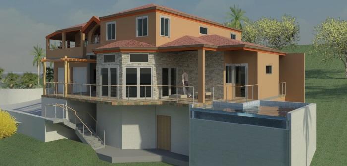 Densil House (Tortola,BVI) by Krishna E  Royer at Coroflot com