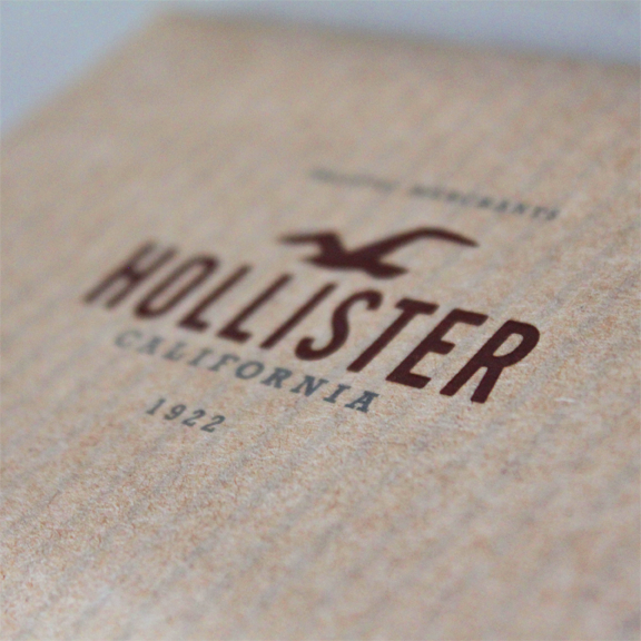 Hollister in-store gift card package