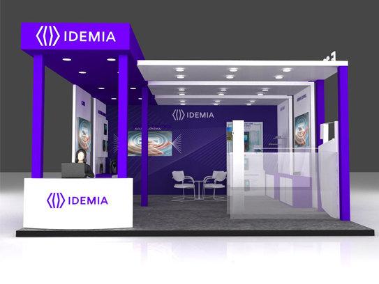 idemia stall by Geeta Rauthan at Coroflot com