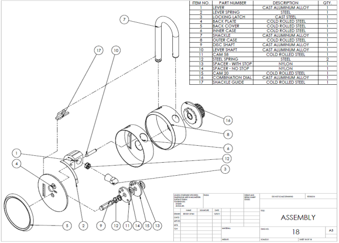 Surprising Me 324 Combination Lock By Paul Zinnel At Coroflot Com Wiring Cloud Pendufoxcilixyz