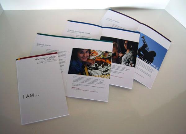 asu herberger recruitment brochures by amy ng jones at coroflot com