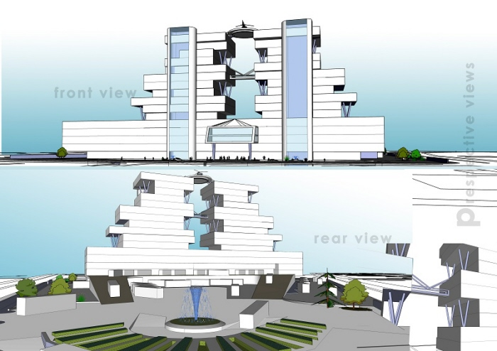 ISBT - cum - Commercial Complex at Mohali, Thesis, 2011 by