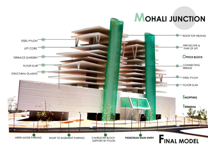 ISBT - cum - Commercial Complex at Mohali, Thesis, 2011 by Gaurav