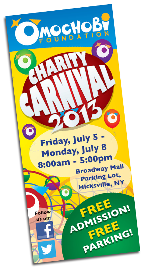 College Project: Charity Carnival Brochure by John Klimiuk