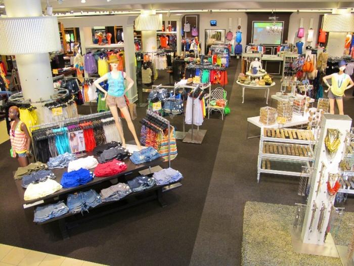 Nordstrom Visual Merchandising Santa Anita Store 2012 By